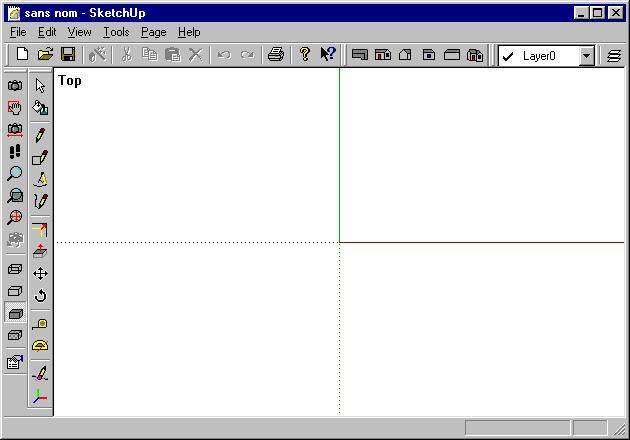 Tout sur autocad test de sketchup for Fenetre zoom autocad